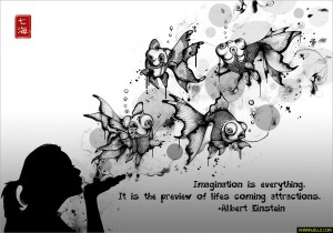 Imagination-is-everything