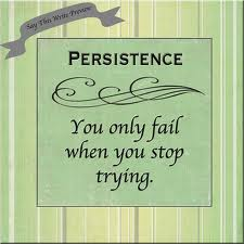 persistence - only fail